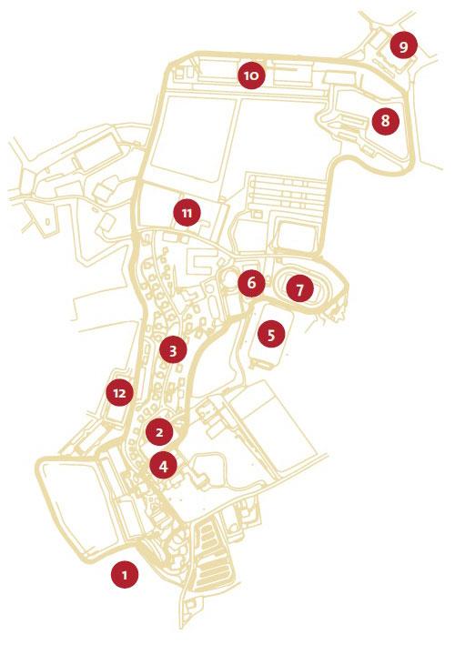 mappa san patrignano